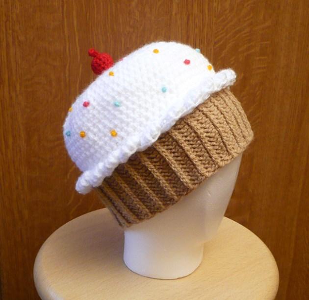 bonnet cupcake crochet tuto