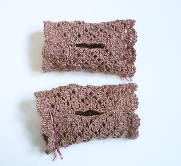 mitaine dentelle crochet
