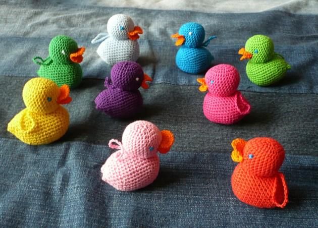 pêche aux canard diy crochet 2