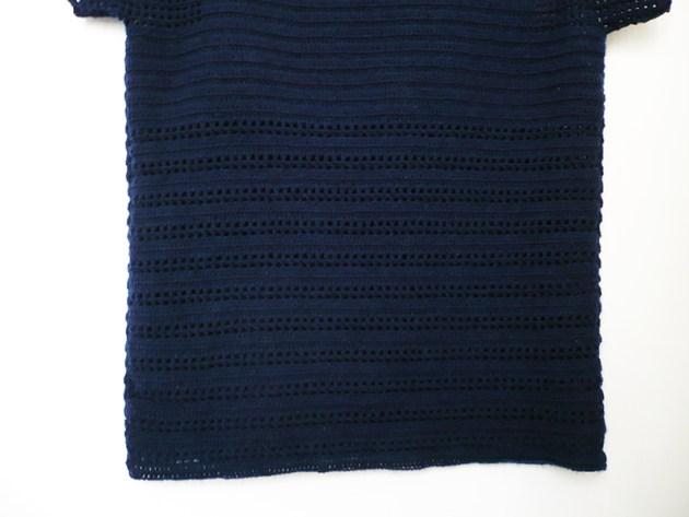 pull ajouré crochet