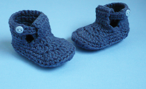 sandales bébé crochet