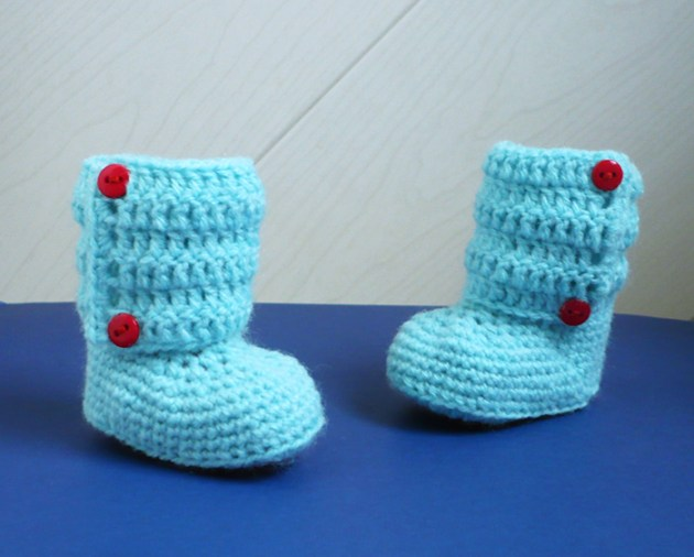 bottines préma au crochet