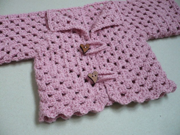 shrug féminin crochet