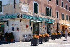 Bar dei Graziosi is the right spot for breakfast and afternoon espresso