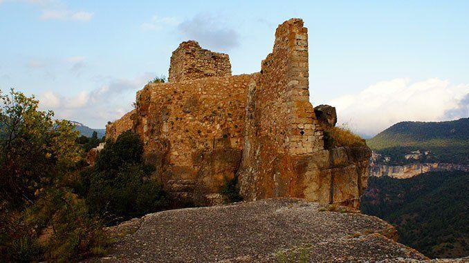 Castillo de Siurana, Salto de la Reina Mora