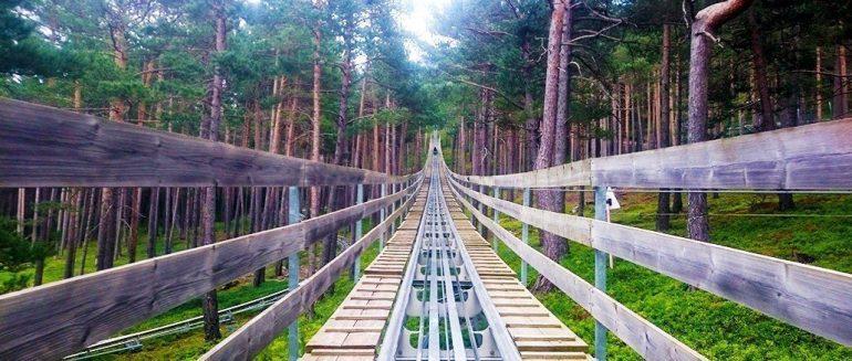 Naturlandia, un parque de aventuras a 2.000 metros de altitud en los Pirineos