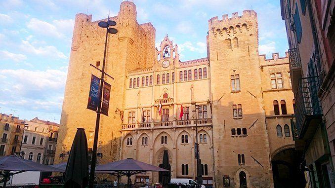 Palacio de los Arzobispos de Narbona.