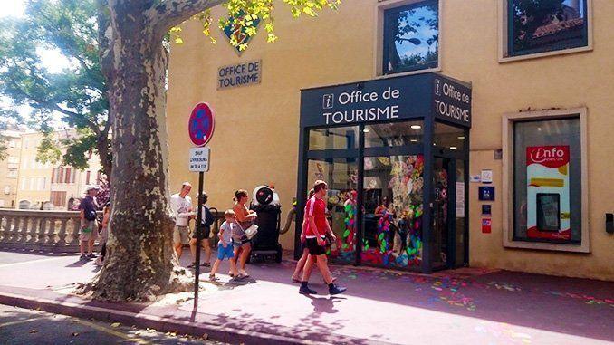 Oficina de Turismo de Narbona.