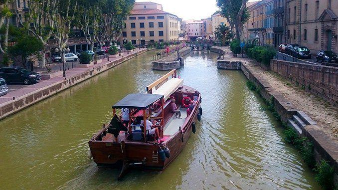 Canal de la Robine, en Narbona.