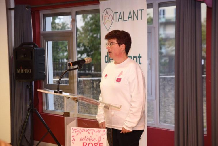 Discours de Véronique Rabier de la Ligue Contre le Cancer