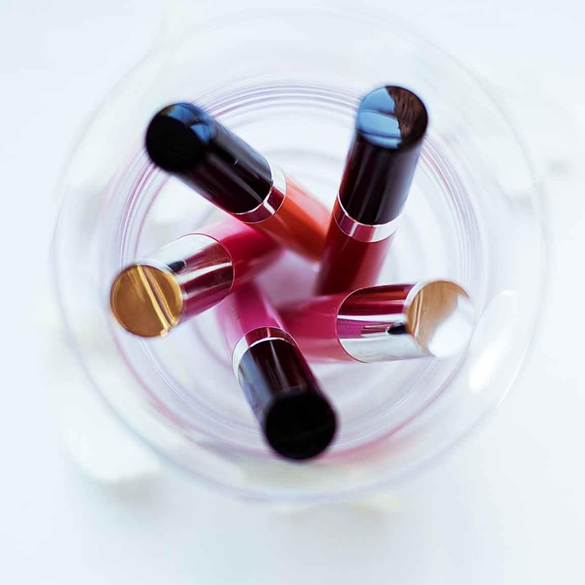 blur close up color container