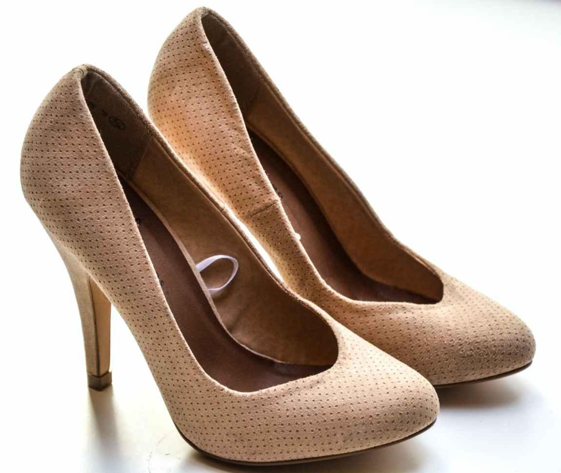 women s beige high heels