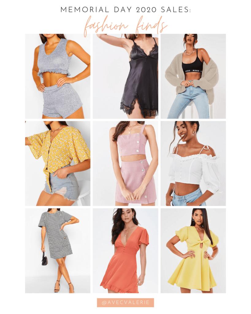 Memorial Day 2020 Fashion Sales
