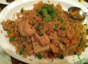 """Chicken"" Fried Rice"