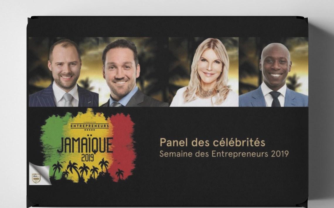Panel avec les Célébrités de la Semaine des Entrepreneurs 2019