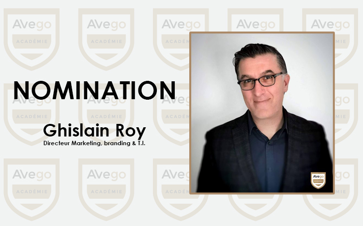 Nomination Ghislain Roy