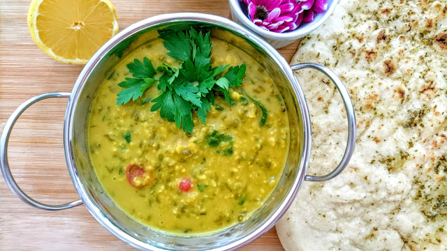 Green Split Lentil Dahl (My Way)