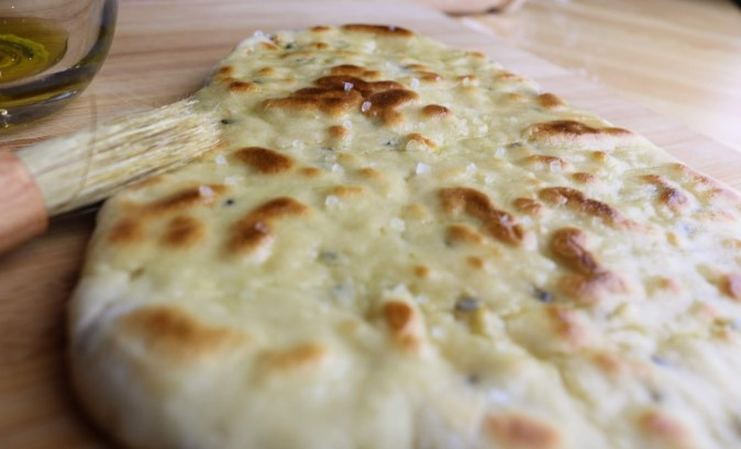 salted Homemade Plain Naans