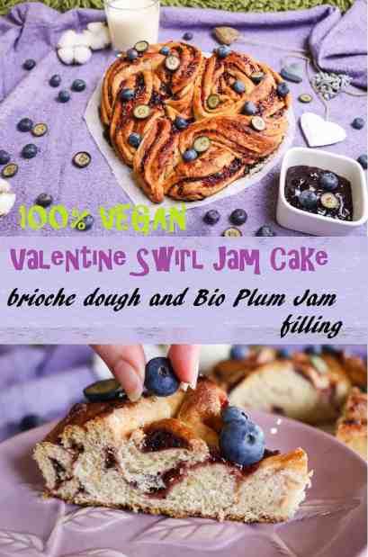 brioche swirl cake pinterest