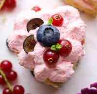 vegan valentine mini cake easy and quick