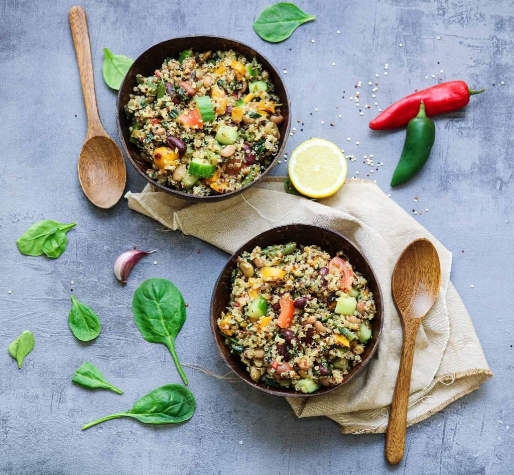 Rich and Refreshing Quinoa Salad
