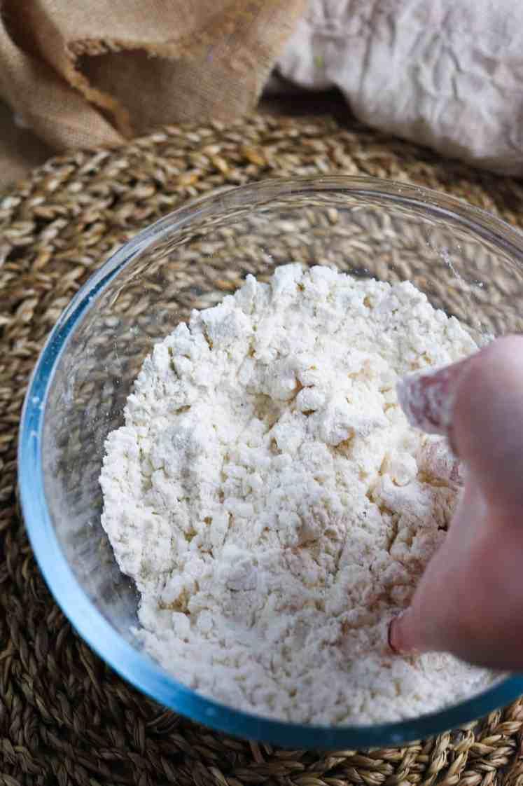 vegan british dumplings dough mix
