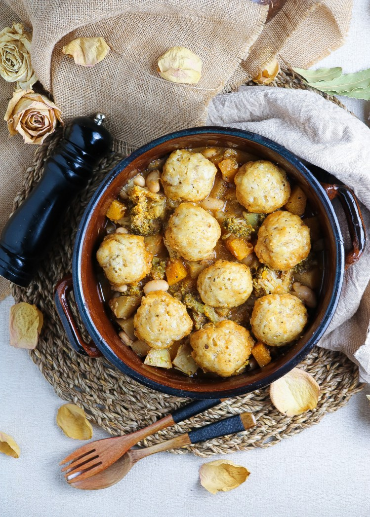 Stufato Vegetale con Dumplings Vegan
