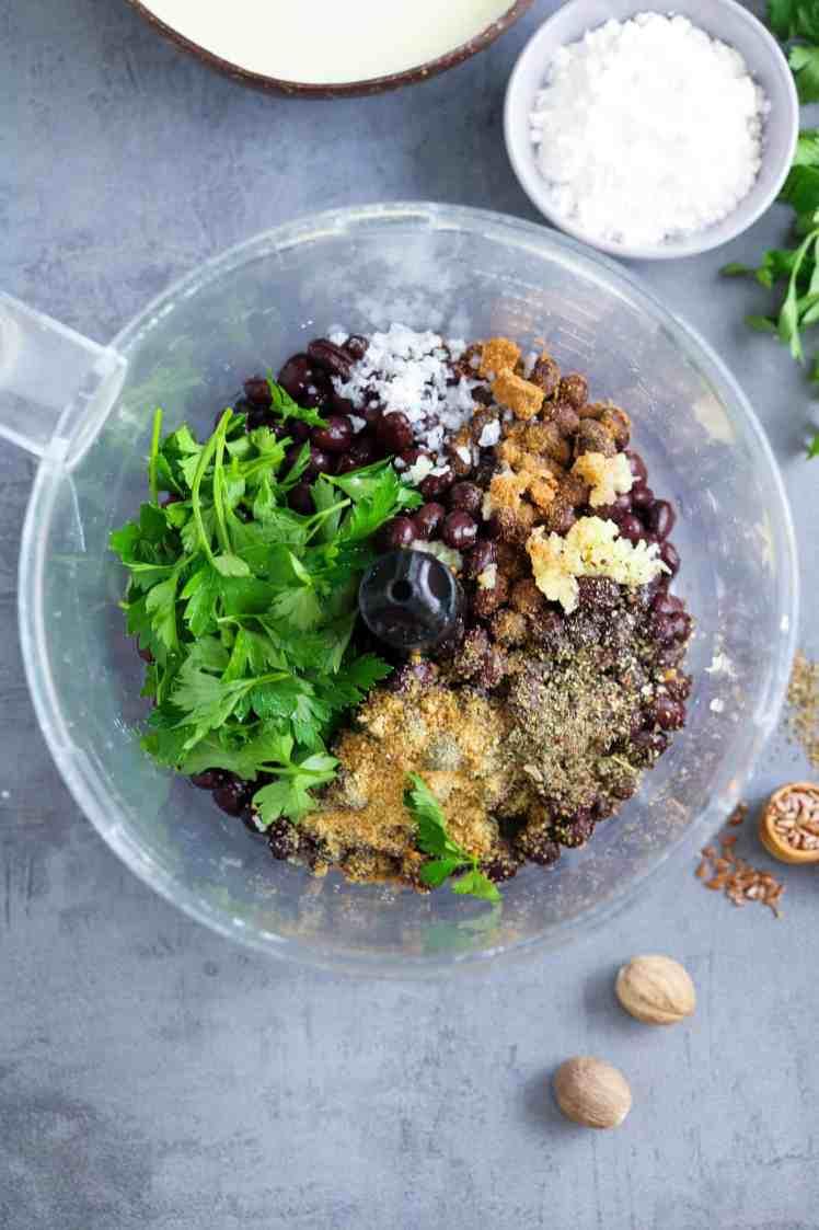 Festive Black Bean Meatballs with Cranberries Vegan & Gluten Free
