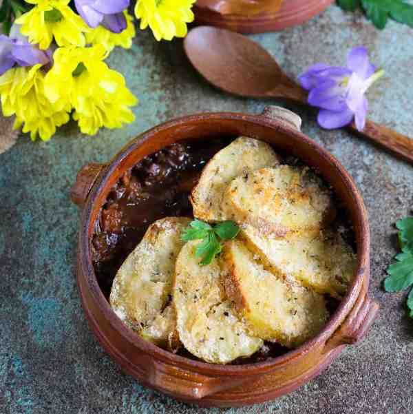 lentil and squash pie