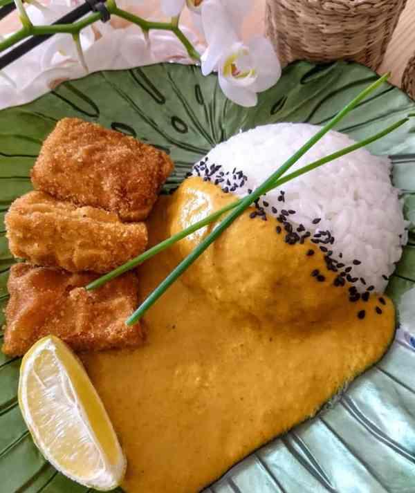 katsu tofu curry