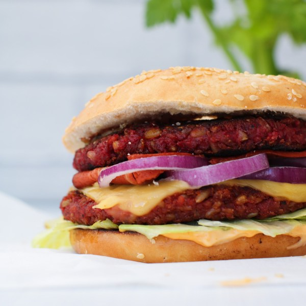 Vegan Freekeh Burgers