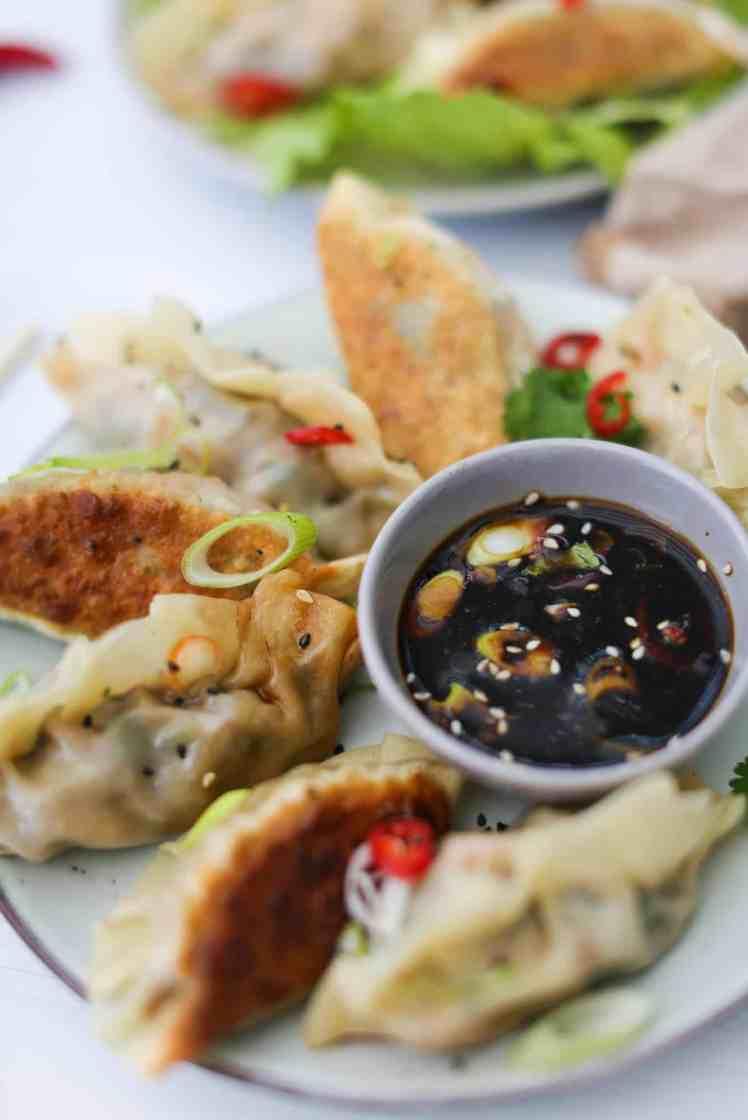 Vegan Chinese-Style Dumplings (Jiaozi)