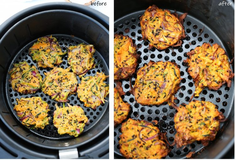 before after cooking