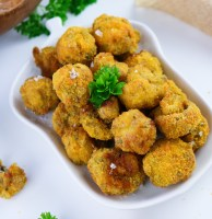 Vegan Garlic Mushrooms with Air Fryer FI