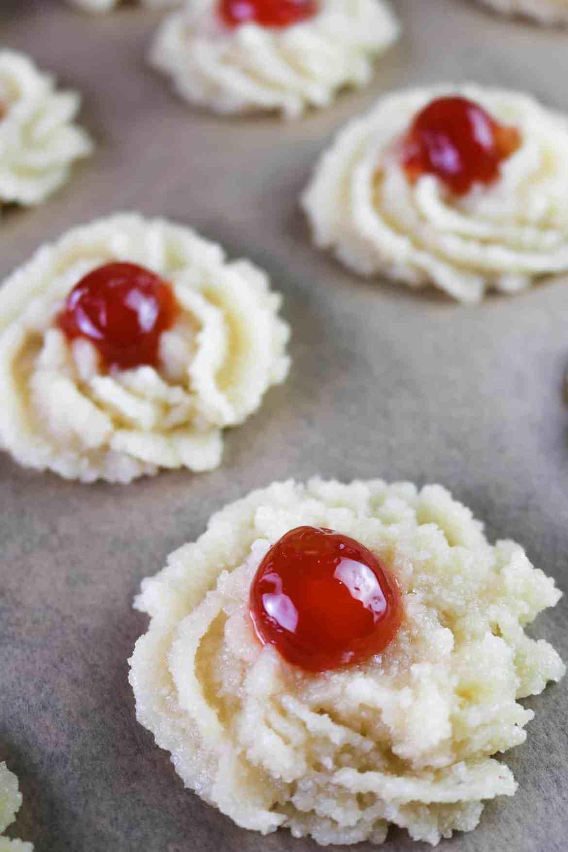pre bake cookies