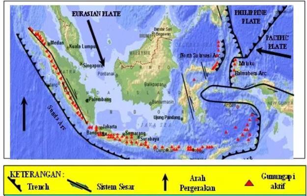 Letak indonesia pada pertemuan tiga lempeng/ kulit bumi aktif. Living In The Land Of Natural Disasters Yang Sedang Belajar Geologi