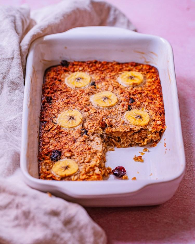 Avena al horno: receta de porridge saludable