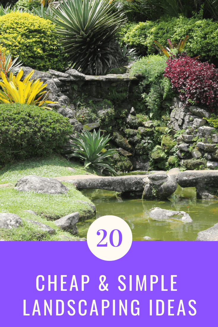20 Cheap & Simple Landscaping Ideas for your Garden - Aven ... on Basic Landscaping  id=39638
