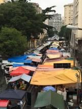 Santa Cecilia Sunday market