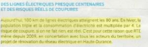1605 Echo Haute Durance détail coupure