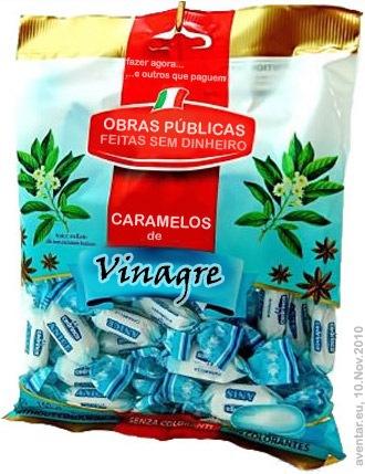 caramelos de vinagre