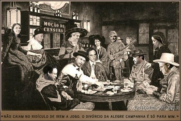 poker da moção de censura