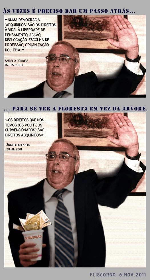 Ângelo Correia e os direitos adquiridos