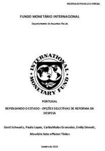 relatorio fmi capa