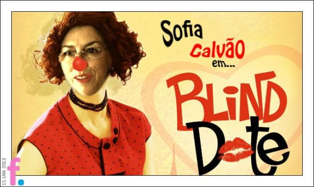 Sofia Galvão in blind date