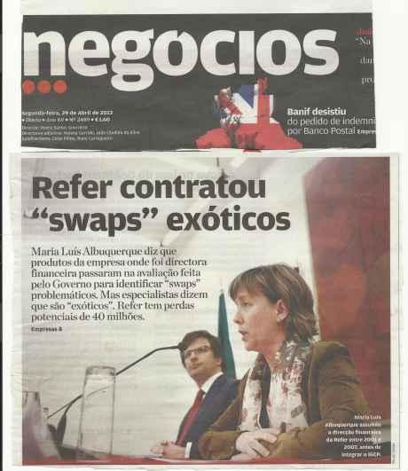 Jornal de Negócios de 29--04-2013