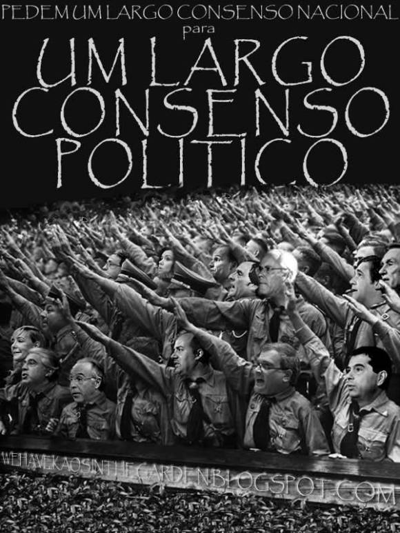 passos coelho miguel macedo vitor gaspar miguel relvas governo consenso politico