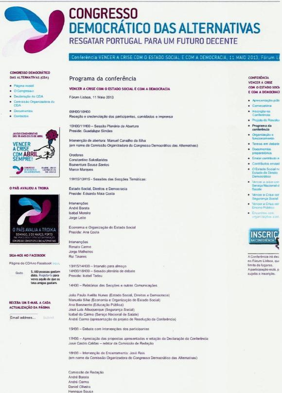 Programa CDA