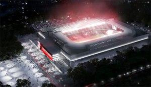 Estádio: Mané Garrincha, Brasília Escritório responsável pelo projeto: Castro Mello Arquitetos Valor estimado da obra: R$ 522 milhões...