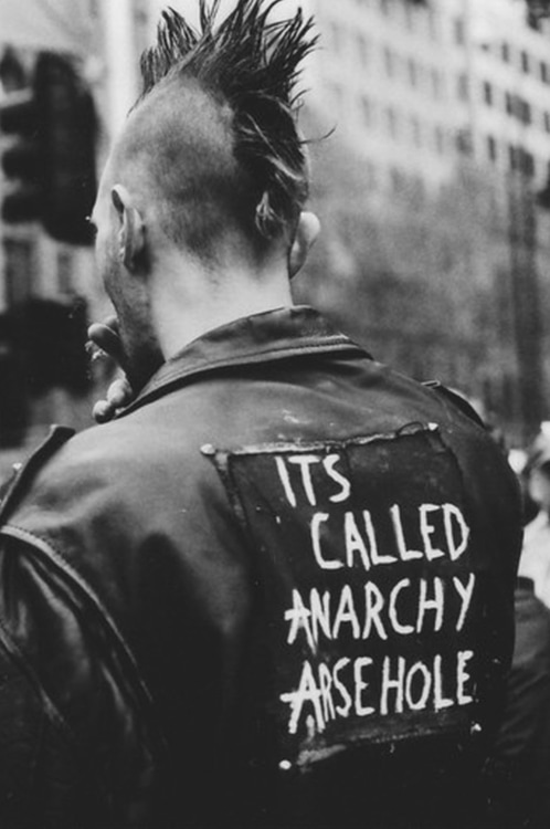 ist called anarchy arsehole